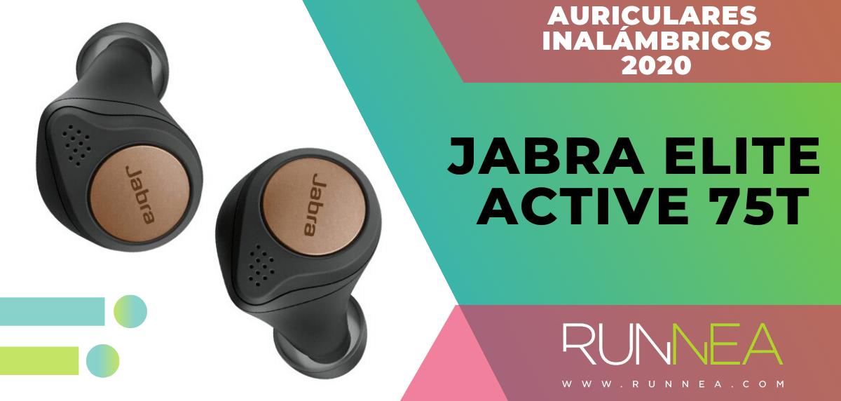 Mejores auriculares inalámbricos de este 2020 para salir a correr - Jabra Elite Active 75t