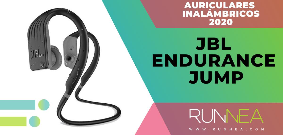 Mejores auriculares inalámbricos de este 2020 para salir a correr - JBL Endurance Jump
