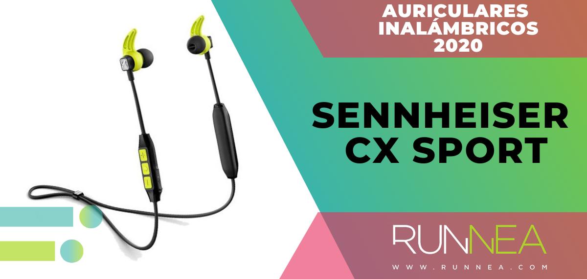 Mejores auriculares inalámbricos de este 2020 para salir a correr - Sennheiser CX Sport
