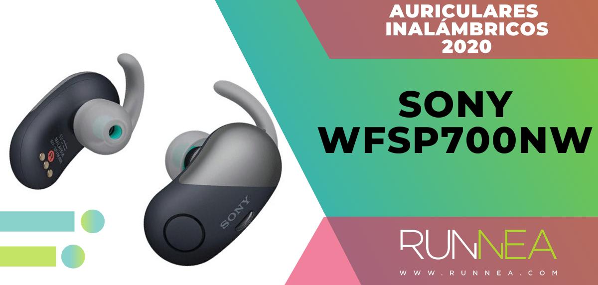 Mejores auriculares inalámbricos de este 2020 para salir a correr - Sony WFSP700NW