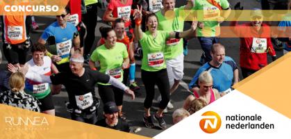 ¿Te gustaría participar en el 1/4 (10,55 km) NN Marathon Rotterdam 2020?