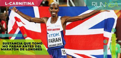 ¿Para qué sirve la L-carnitina? La sustancia que tomó Mo Farah antes del Maratón de Londres