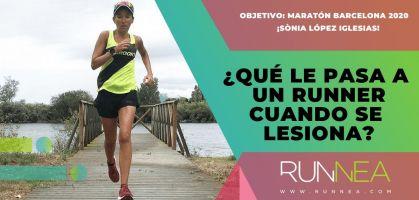 ¿Qué le pasa al runner cuando sufre una lesión? ¡Nadie quiere parar!
