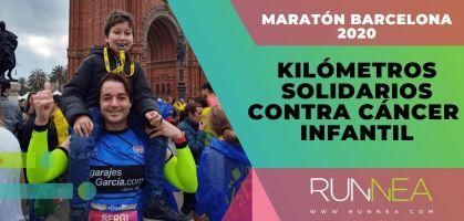 Kilómetros solidarios en el Maratón de Barcelona 2020, la historia de superación de Sergi Asensio