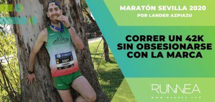Crónica Maratón Sevilla 2020: correr una 42k sin obsesionarse con la marca