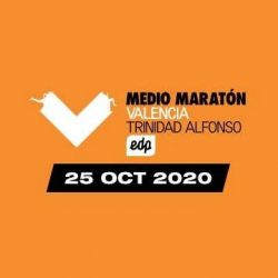 Cartel - Medio Maratón Valencia Trinidad Alfonso EDP 2020