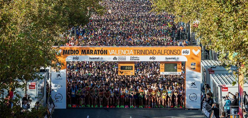 Medio Maratón Valencia Trinidad Alfonso EDP 2020