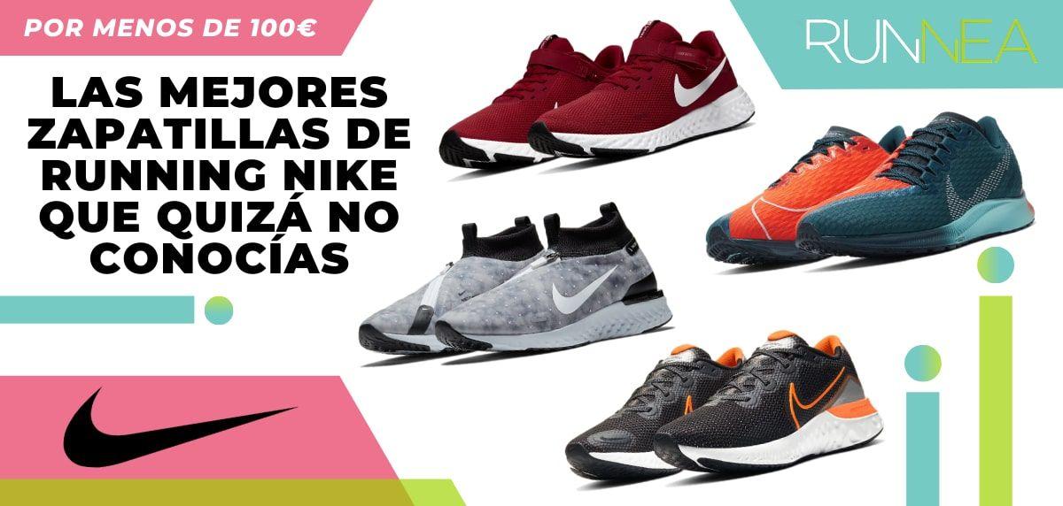 Fructífero auditoría Corta vida  Las 8 mejores zapatillas running Nike por menos de 100€