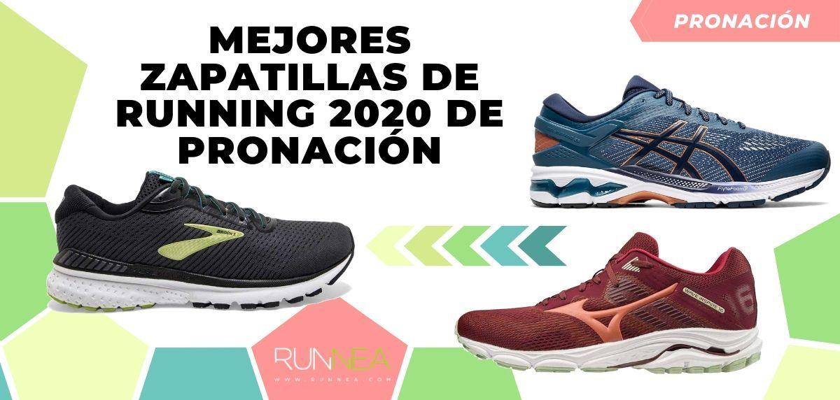 Miserable Transporte jugador  Mejores zapatillas de running 2020 para corredores pronadores