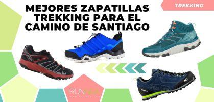 Mejores zapatillas de trekking para afrontar el Camino de Santiago