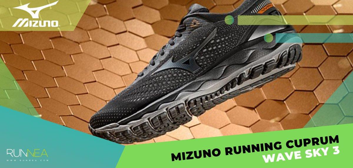 Zapatillas Mizuno Running Cuprum-Mizuno Wave Sky 3