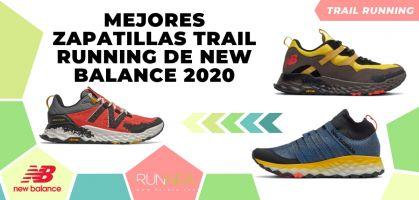 Las mejores zapatillas trail running de New Balance para 2020