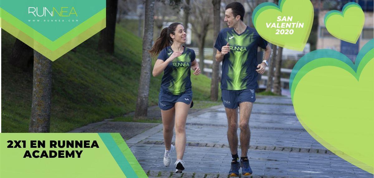 ¡Llega el San Valentín Runner: Mejores regalos running para él y para ella!, 2x1 Runnea Academy