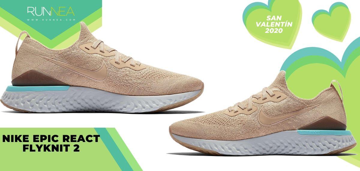 ¡Llega el San Valentín Runner: Mejores regalos running para él y para ella!, Nike Epic React Flyknit 2