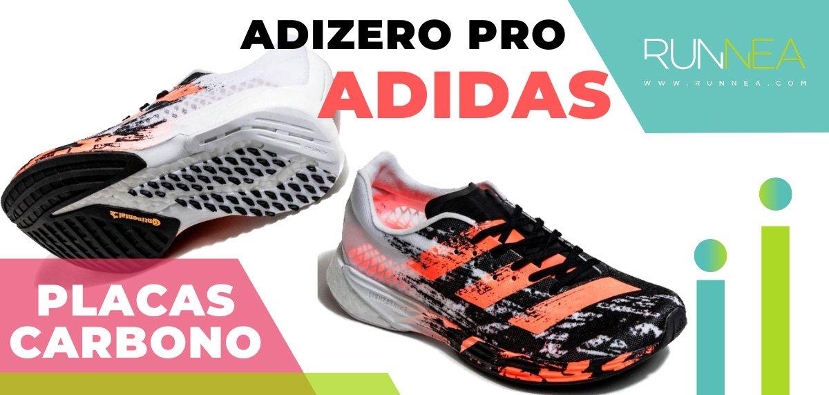 Las zapatillas de running con placa de carbono más destacadas - adidas Adizero Pro