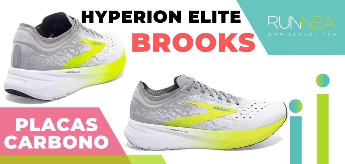 Las zapatillas de running con placa de carbono más destacadas - Brooks Hyperion Elite