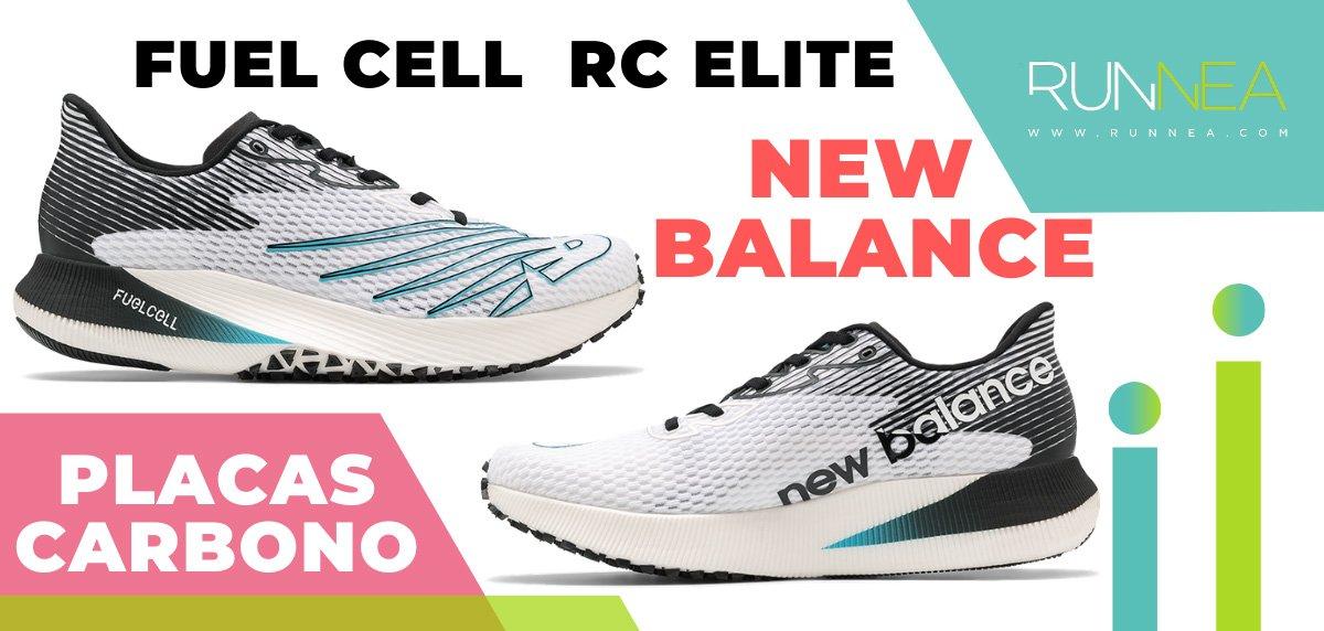 Mejores zapatillas de running con placa de carbono - New Balance Fuel Cell RC Elite