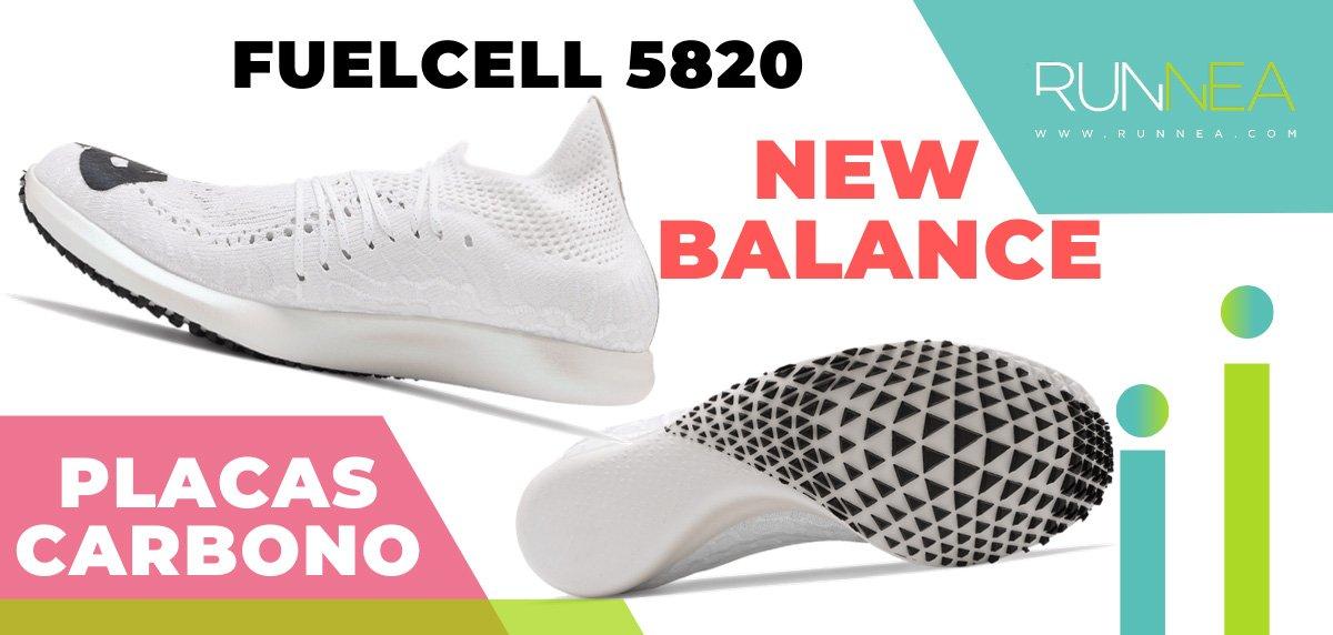 Las zapatillas de running con placa de carbono más destacadas - New Balance FuelCell 5820