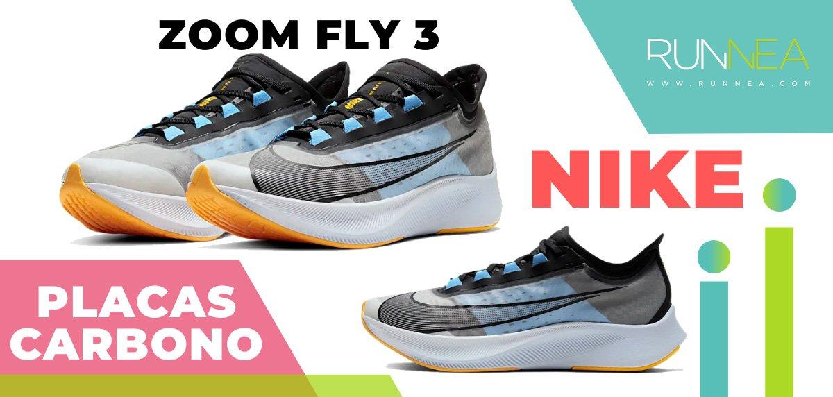 Las zapatillas de running con placa de carbono más destacadas - Nike Zoom Fly 3