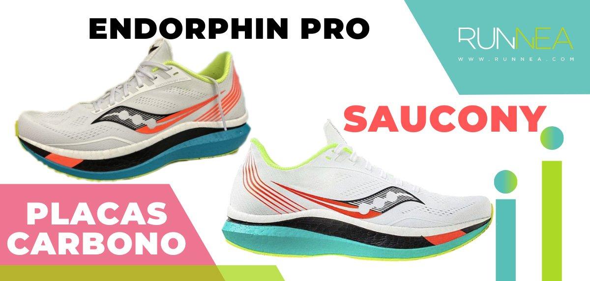 Las zapatillas de running con placa de carbono más destacadas - Saucony Endorphin Pro