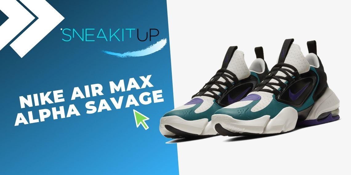Las 10 mejores ofertas en sneakers de Nike con ¡descuentos final de temporada! Nike Air Max Alpha Savage