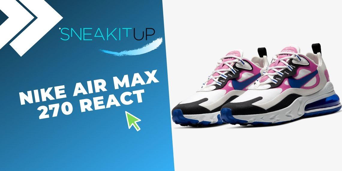 Las 10 mejores ofertas en sneakers de Nike con ¡descuentos final de temporada! Nike Air Max 270 React