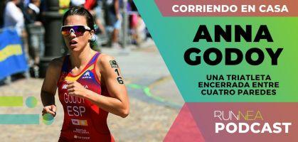 Hablamos con la triatleta Anna Godoy: Así se mantiene en forma en casa