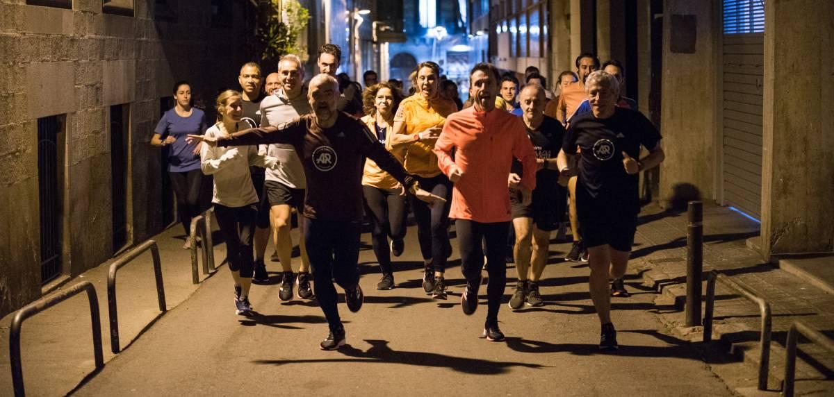 Asistimos a la presentación oficial de las Adidas SL20 y Ultraboost PB en el evento #FasterThan My Limits, calles Barcelona