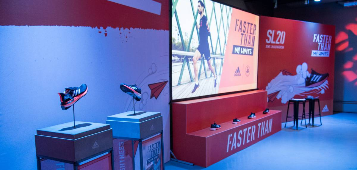 Asistimos a la presentación oficial de las Adidas SL20 y Ultraboost PB en el evento #FasterThan My Limits, concepto velocidad