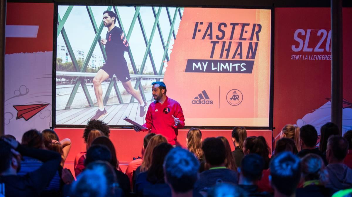 Asistimos a la presentación oficial de las Adidas SL20 y Ultraboost PB en el evento #FasterThan My Limits, evento