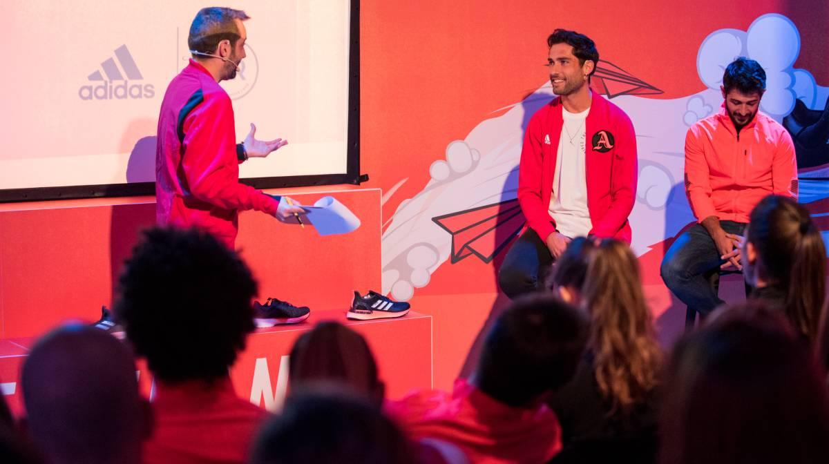 Asistimos a la presentación oficial de las Adidas SL20 y Ultraboost PB en el evento #FasterThan My Limits, Sergio Turull