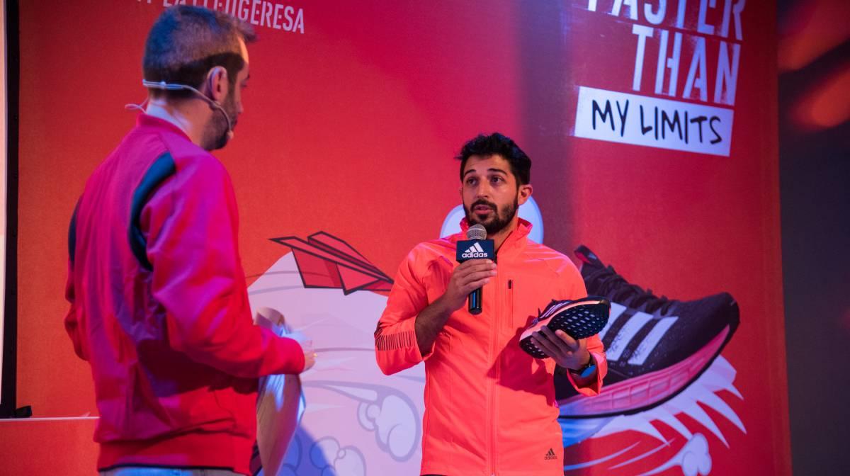 Asistimos a la presentación oficial de las Adidas SL20 y Ultraboost PB en el evento #FasterThan My Limits, Toni Nieto
