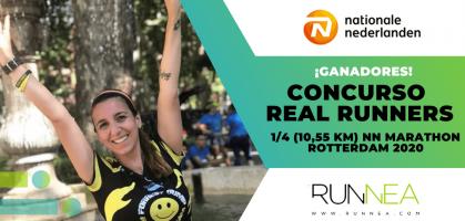 ¡Ya conocemos a la ganadora del concurso Real Runners del 1/4 (10,55 km) NN Marathon Rotterdam 2020!