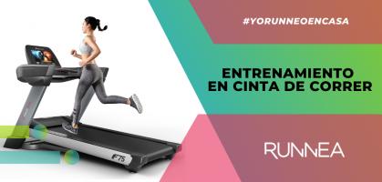 Entrenamiento en cinta de correr: Una propuesta para sacar chispas a tu aparato de cardio