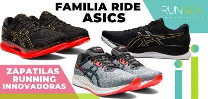 Familia Ride de ASICS: ¿Qué zapatilla de running elijo y para qué?