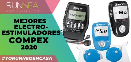 Los 9 mejores electroestimuladores Compex 2020