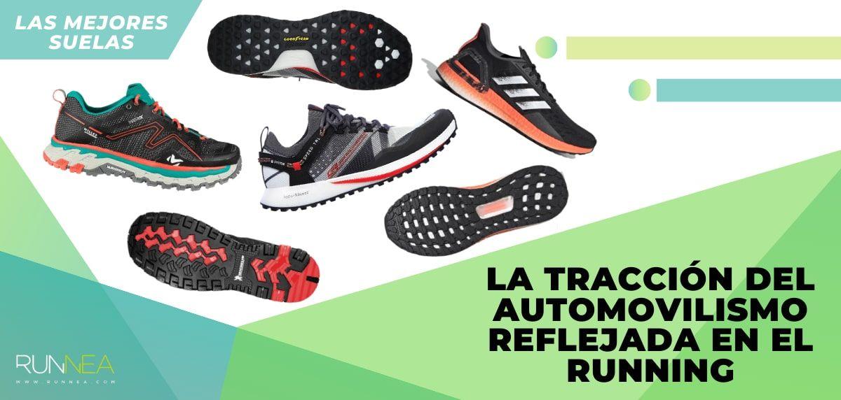 Las mejores zapatillas de running con suela de fabricantes de neumáticos