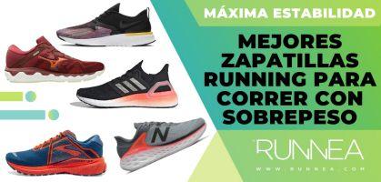 Las mejores zapatillas running 2020 para comenzar a correr con sobrepeso