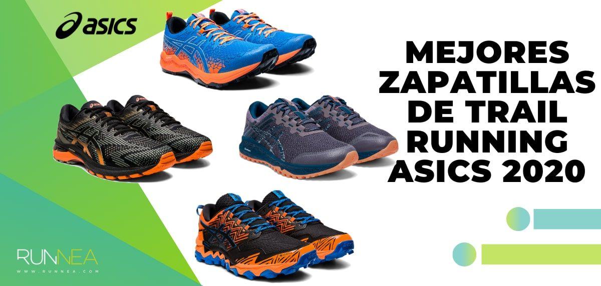 Las mejores zapatillas de Asics para trail running de la
