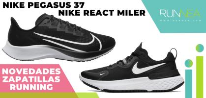 Novedades 2020 Nike Running, primeras impresiones: Nike Pegasus 37 y Nike React Miler