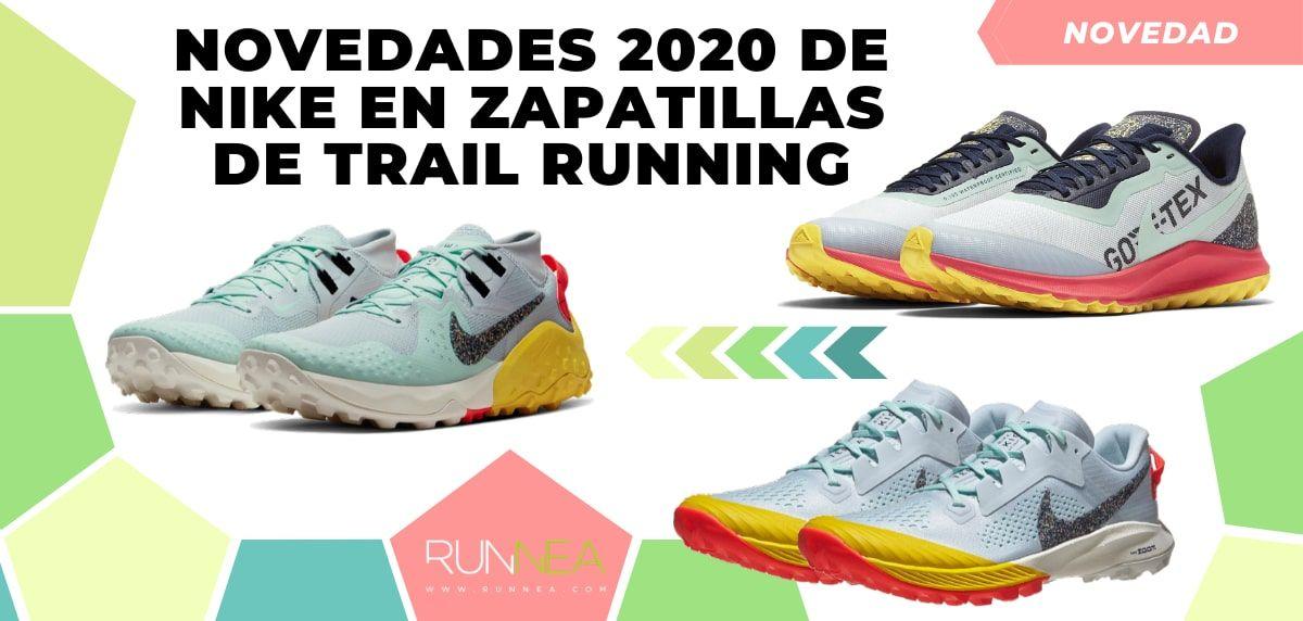 Las novedades 2020 de Nike en zapatillas de trail running