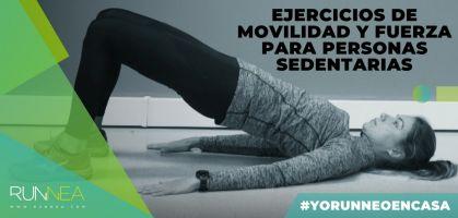 Sesión de ejercicios de movilidad y fuerza para personas sedentarias ¡Compártelo!