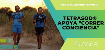"""TetraSOD® apoya """"Correr Conciencia"""", un proyecto solidario en torno al running"""
