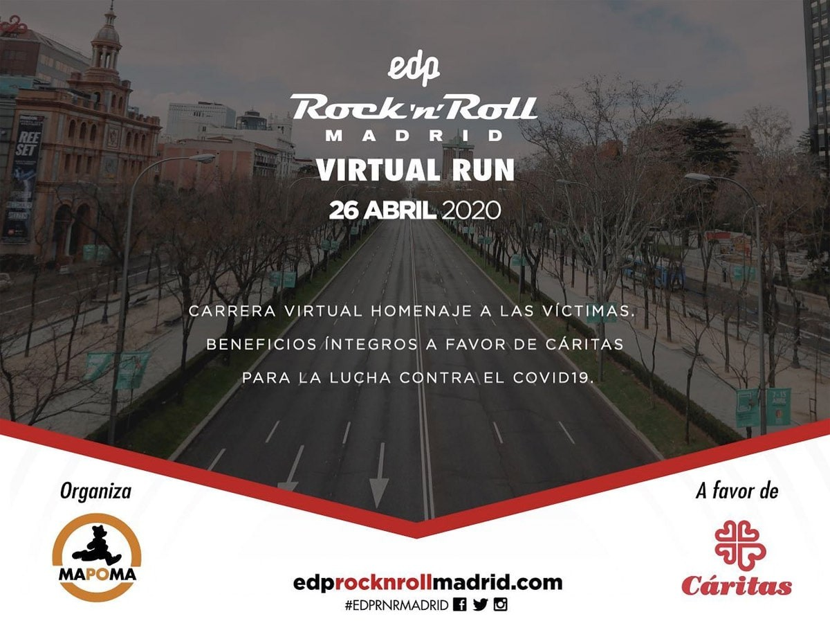 ¿En qué consiste la EDP Rock 'n' Roll Madrid Virtual Run 2020? - foto 1