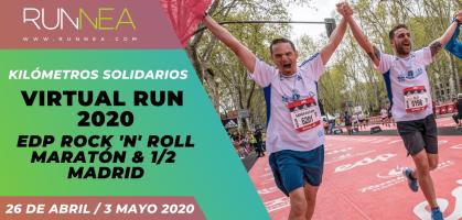 Así será el EDP Rock 'n' Roll Madrid Virtual Run 2020, particular propuesta solidaria para correr este 26 de abril desde casa