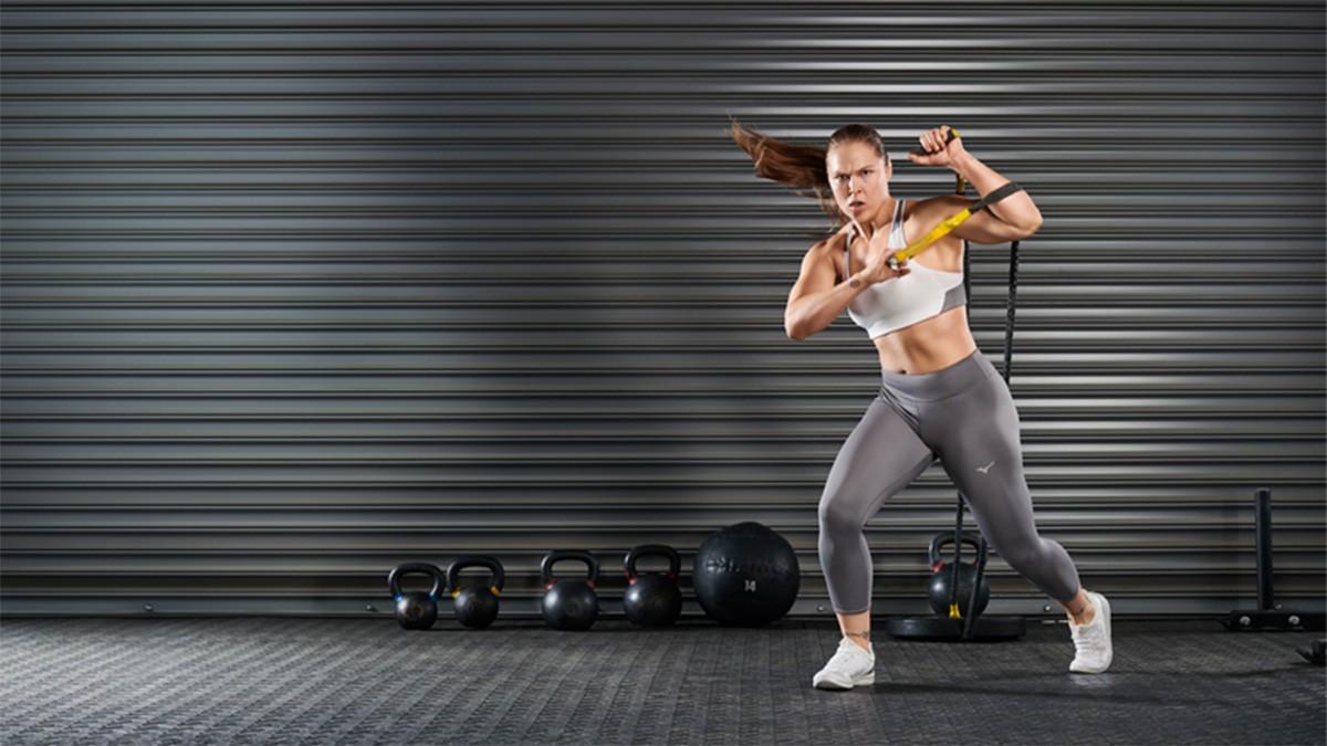 Ronda Roumsey, imagen de marca de Mizuno Training - foto 2