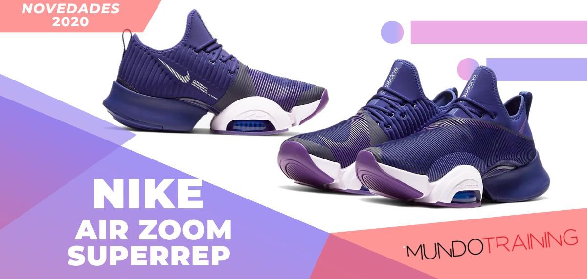 Zapatillas de entrenamiento Nike, novedades 2020 - Nike Air Zoom SuperRep