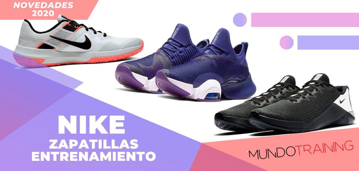Las novedades 2020 en zapatillas de entrenamiento Nike