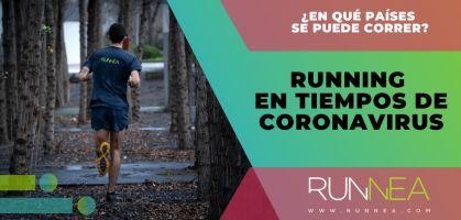 Running en tiempos de Coronavirus: ¿En qué países está permitido correr y en cuáles no?