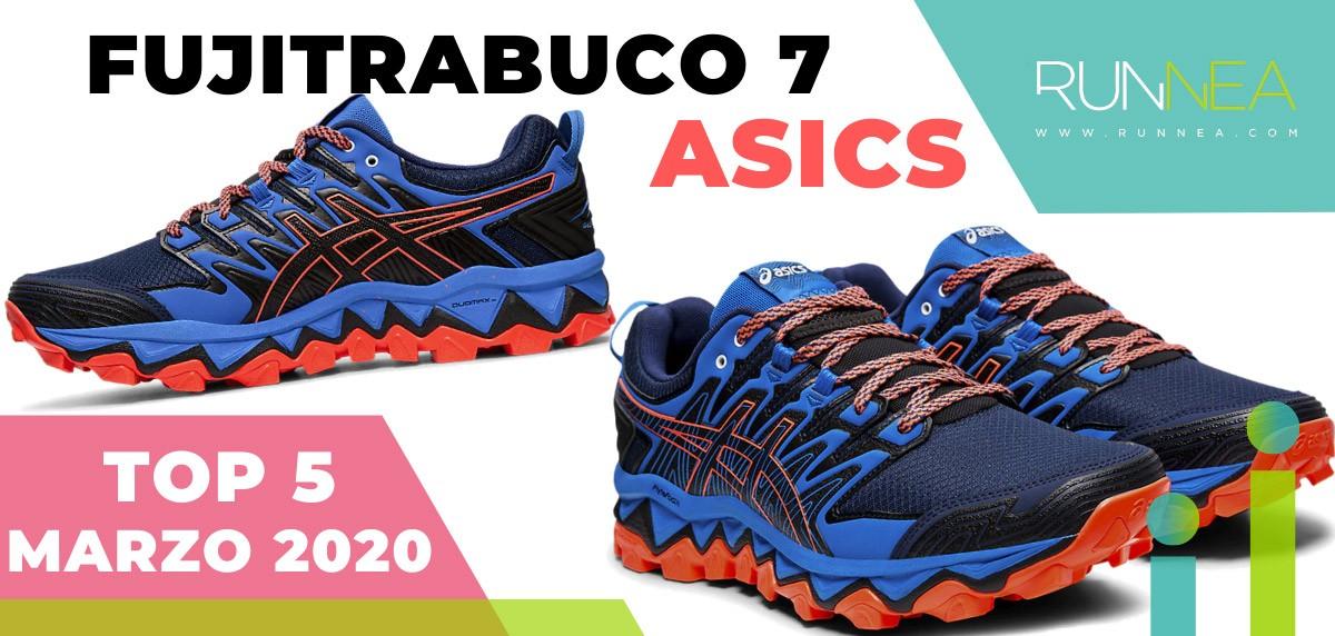 Top 15 de las zapatillas de running más vendidas en marzo 2020 en Runnea - ASICS Fujitrabuco 7